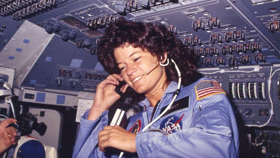 US-amerikanische Astronautin Sally Ride 1983: Habt ihr keine anderen Probleme?
