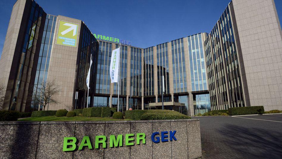Hauptverwaltung der Barmer GEK in Wuppertal: Großfusion mit Deutscher BKK geplant