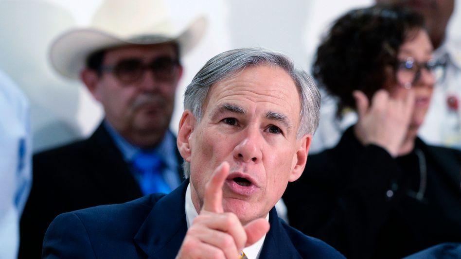 Texanischer Gouverneur Abbott: Der nächste konservative Vorstoß