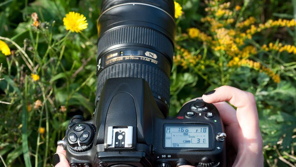 Unkompliziert: Die Automatik der Kamera liegt meistens richtig