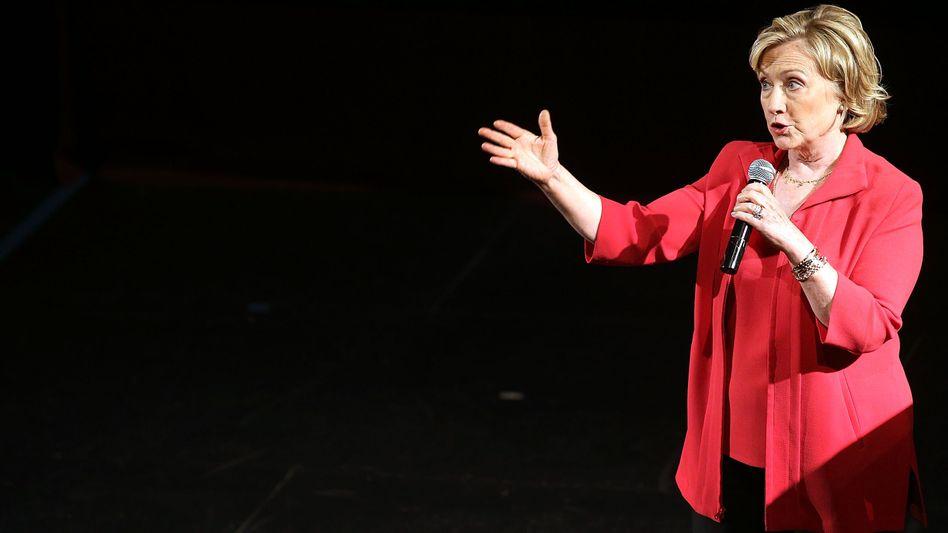 Ex-US-Außenministerin Clinton (Archivbild): In einem Interview kritisiert sie Obamas Politik im Nahen Osten
