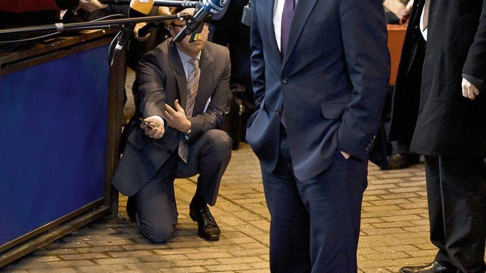 Premier Cameron in Brüssel: Sprung ins Ruderboot