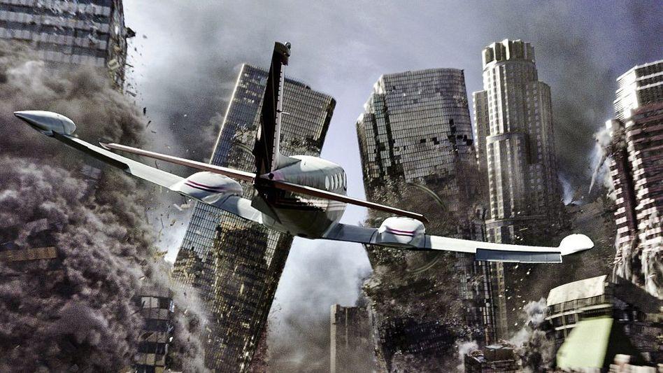 Emmerich-Film-Apokalypse »2012«, Ausschnitte aus TV-Sendungen: Bunte Gala oder »Brennpunkt«?