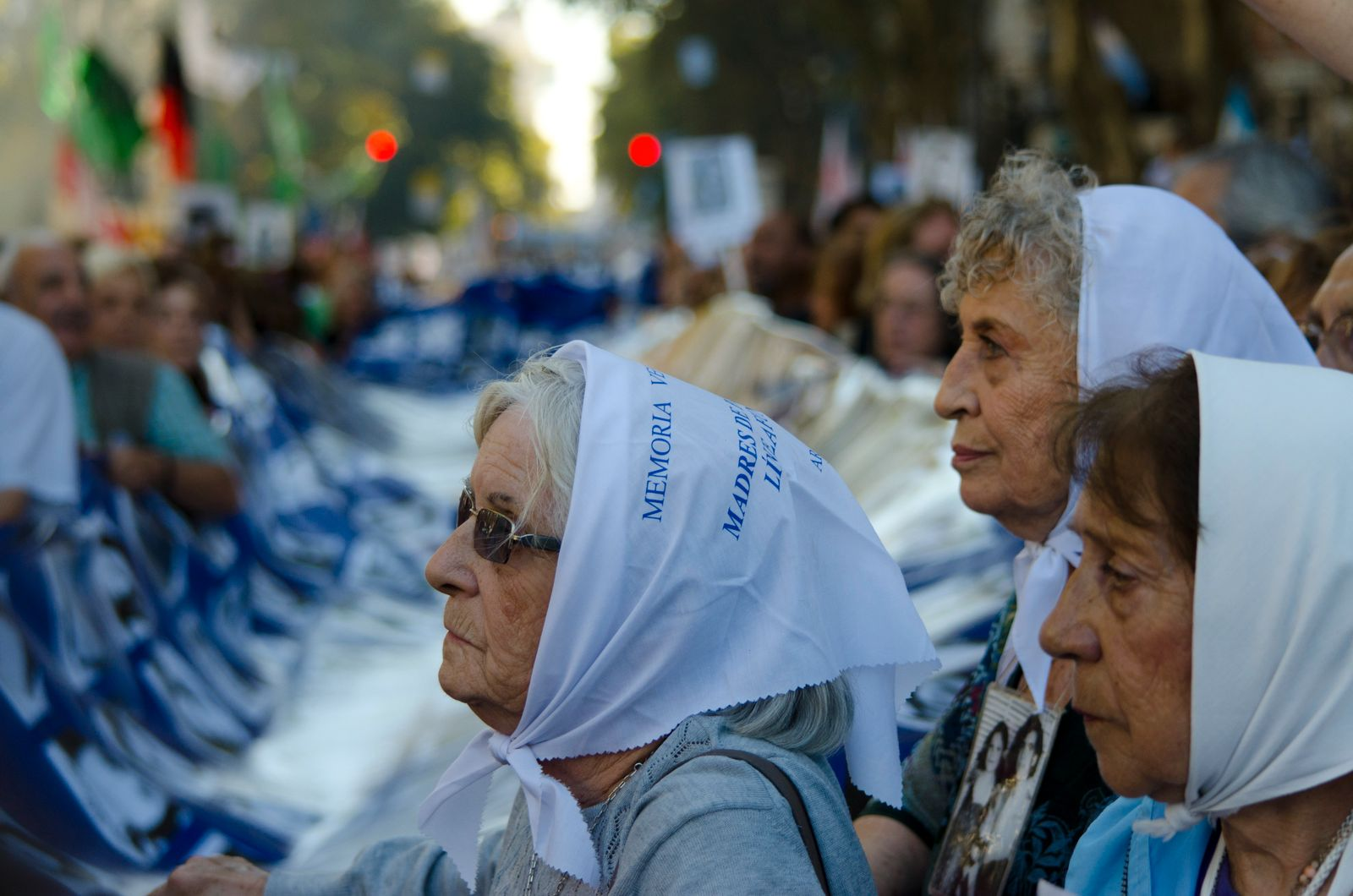 Demonstration on the Argentine Dictatorship 37th Anniversary