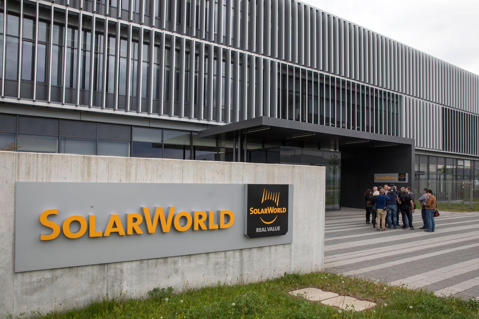 Standort Arnstadt nach Solarworld-Insolvenz