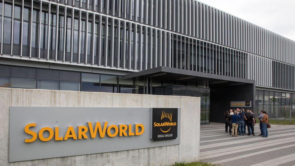 Thüringer Standort der Solarworld AG (Archiv)