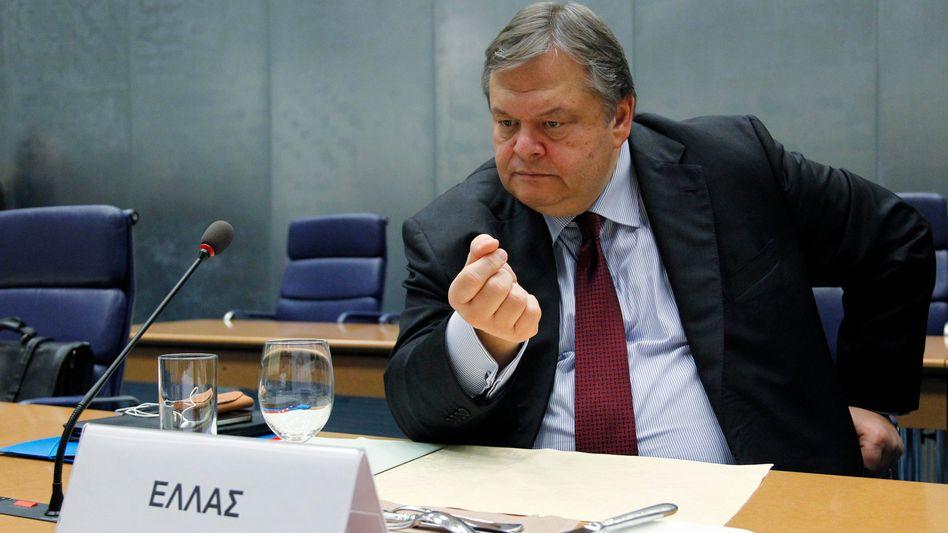 Griechenlands Finanzminister Venizelos: Rätselhafter Geldsegen