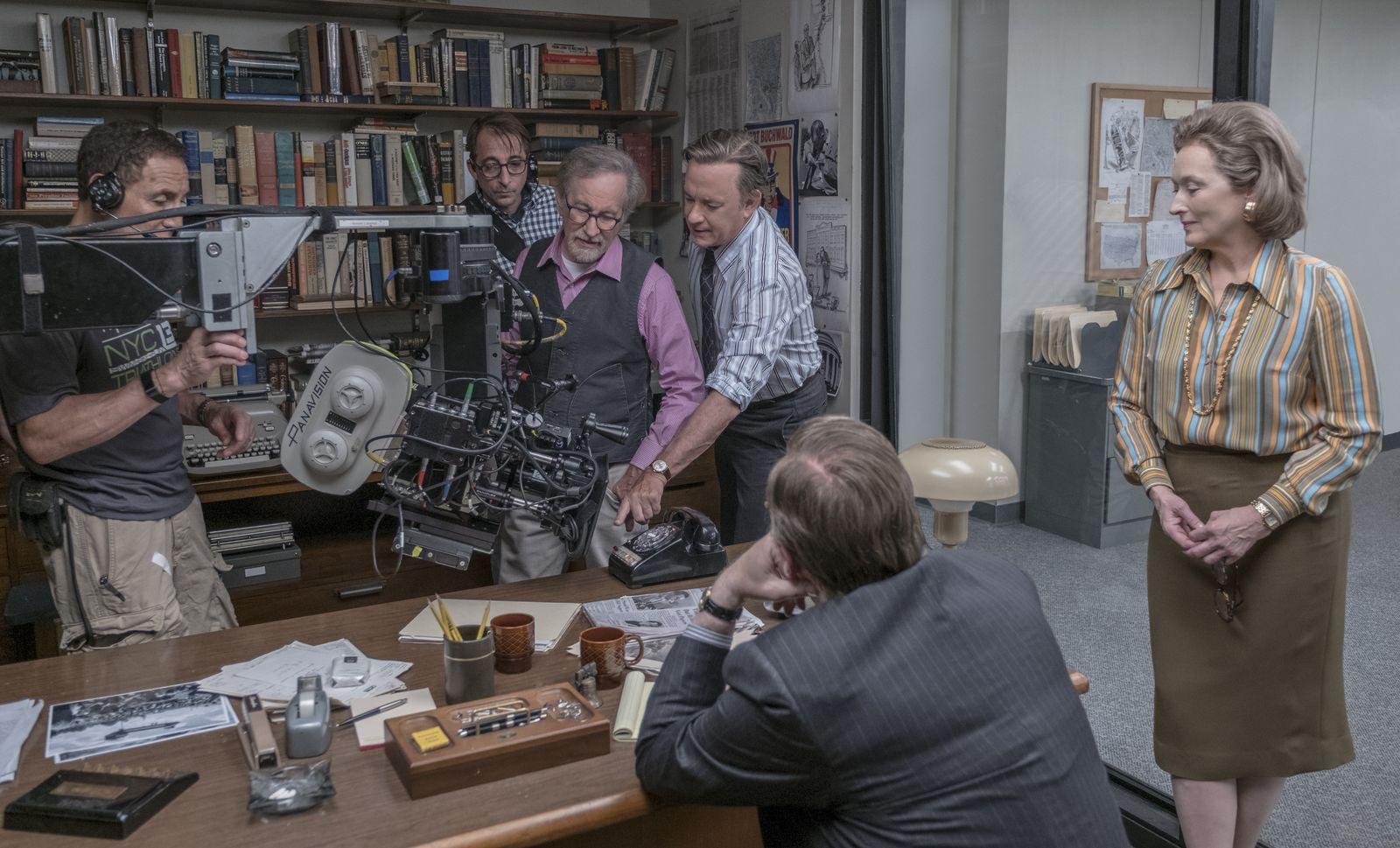 EINMALIGE VERWENDUNG SPIEGEL Plus SPIEGEL 6/2018 S.112 Meryl Streep Spielberg STARTBILD