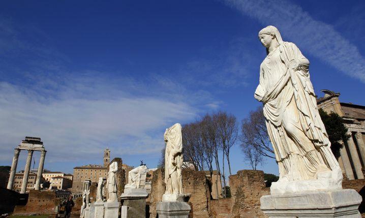 Haus der Vestalinnen in Rom: Zopf-Geheimnis ist entschlüsselt