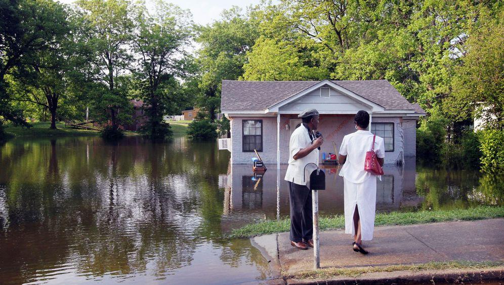 Hochwasser: Alarm am Mississippi