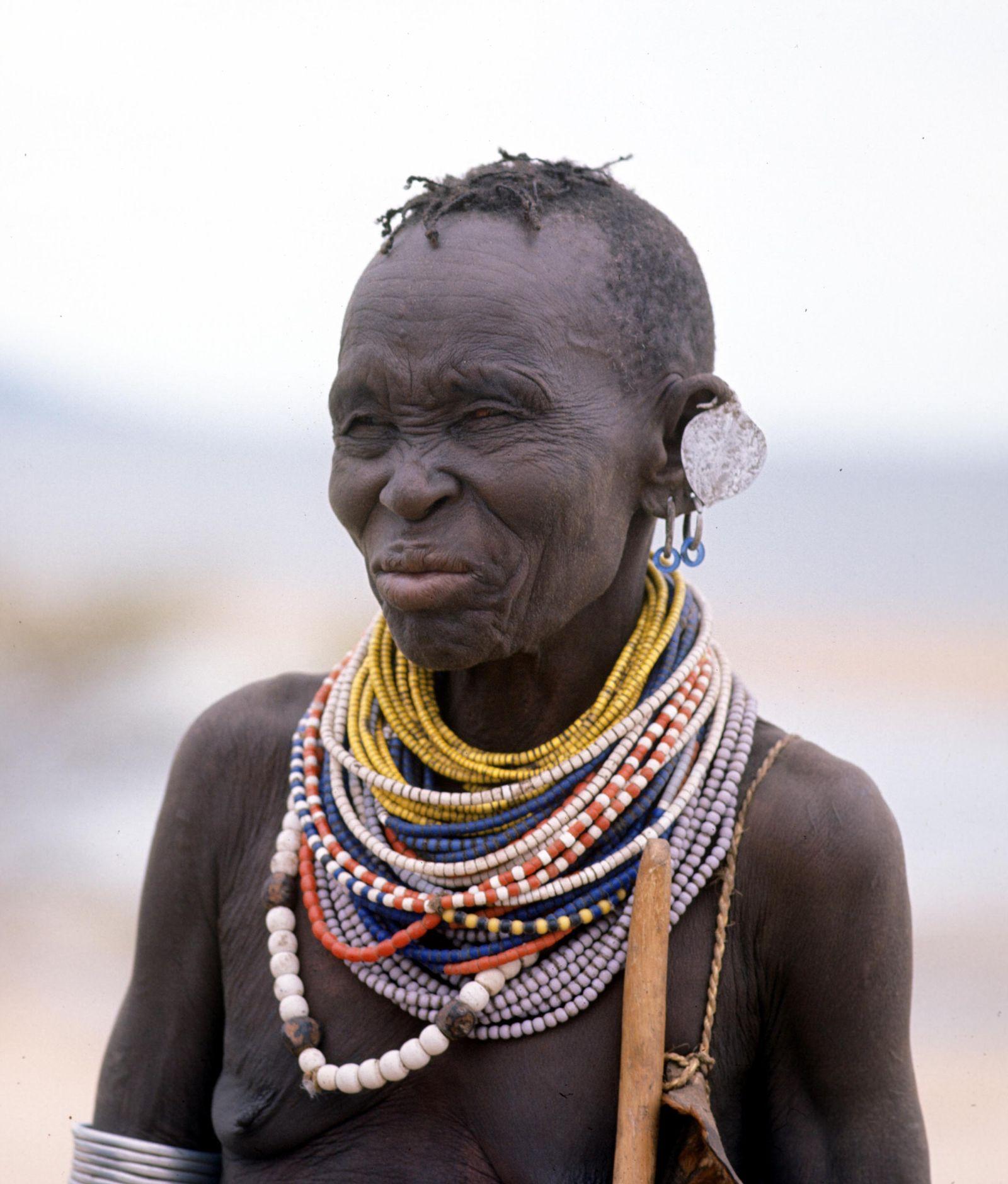 EINMALIGE VERWENDUNG Bantu tribe/ Kenya/ East Africa