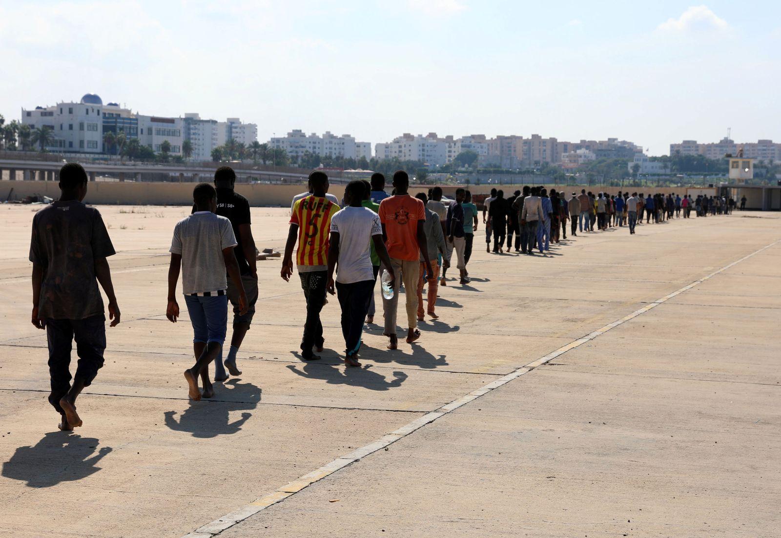 Libyen/ Flüchtlinge