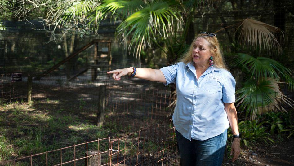 Bekannt durch die Netflix-Serie »Tiger King«: Carole Baskin, Gründerin von »Big Cat Rescue«