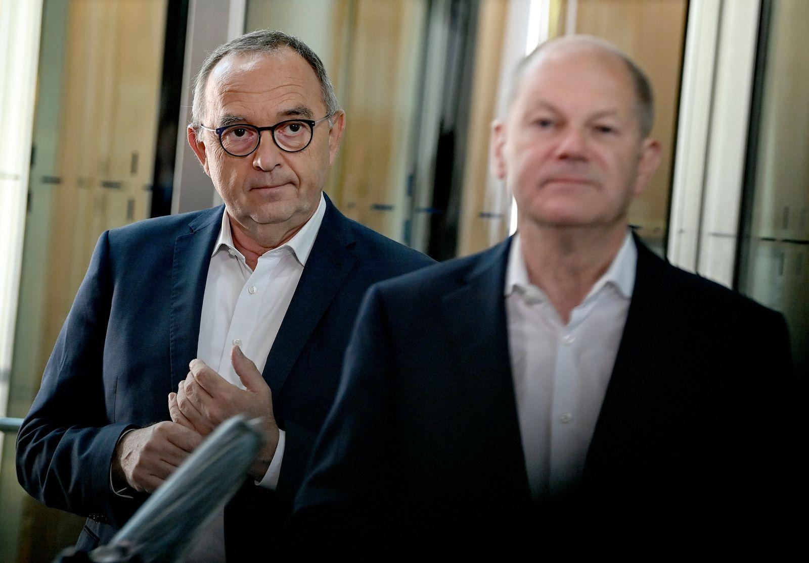 Gremiensitzungen der Bundestagsparteien - SPD