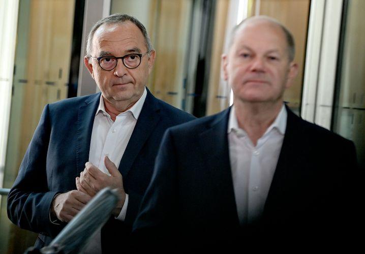 Sozialdemokraten Walter-Borjans, Scholz
