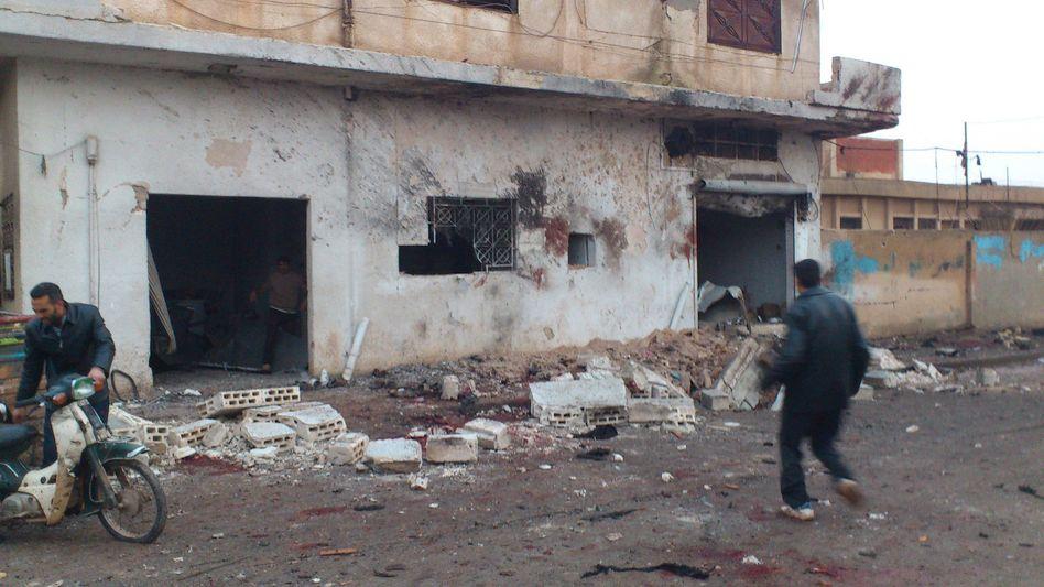 Syrien-Konflikt: Dutzende Tote bei Luftangriff auf Bäckerei