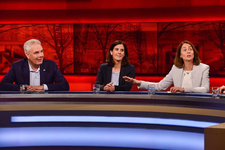 EINMALIGE VERWENDUNG TV/ Hart aber fair/ 28.05.18/ Wohnen arm macht