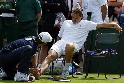 Tennis-Profi Haas: Belastungen für Extremitäten besonders hoch