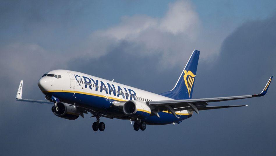 Maschine von Ryanair