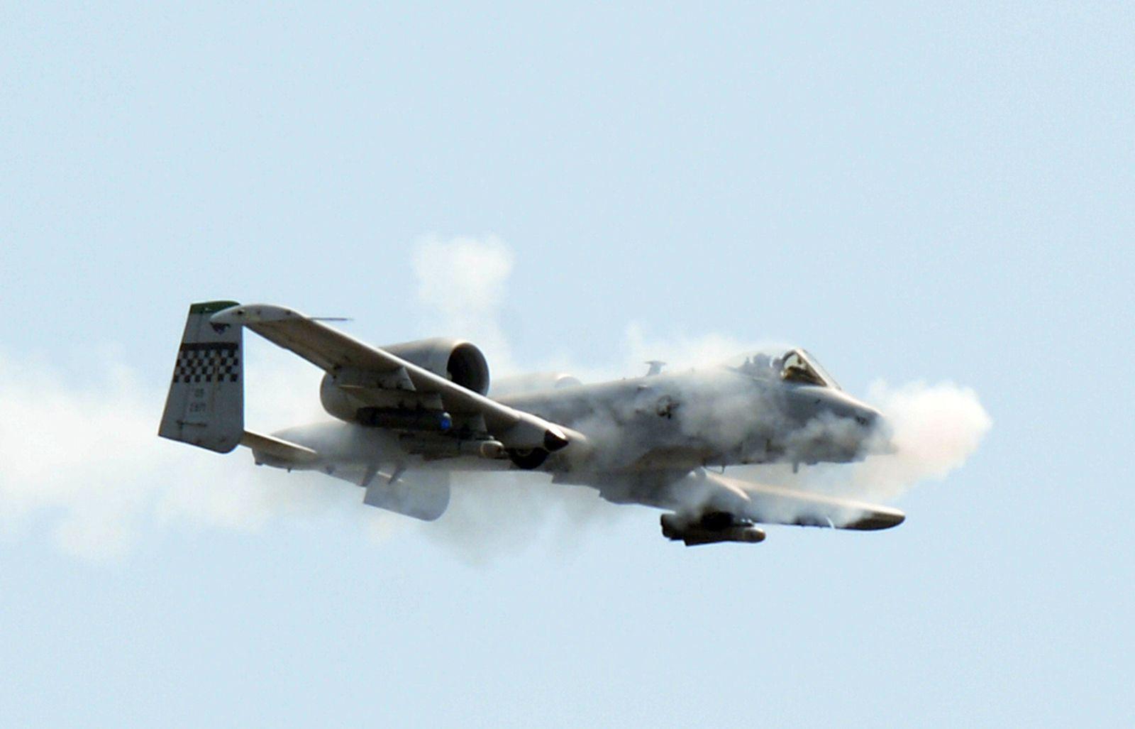 US Air Force A-10 Thunderbolt II Kampfjet