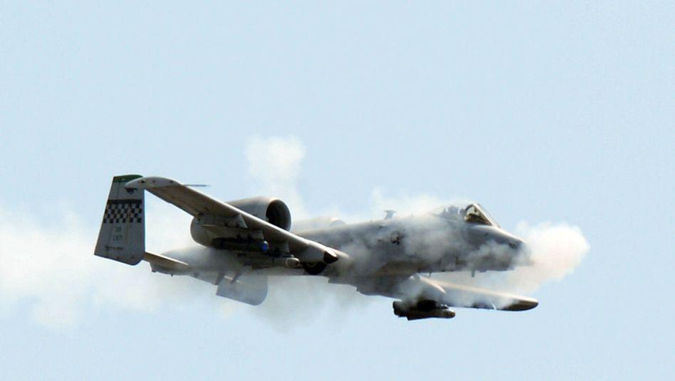 US-Kampfjet A-10 Thunderbolt II