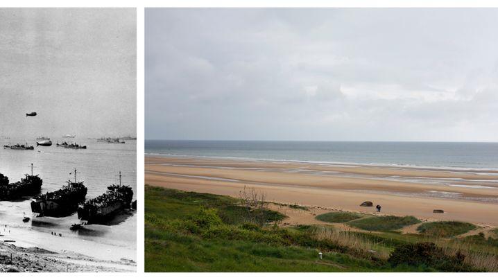D-Day: Orte der Schlacht - die Normandie 1944 und heute