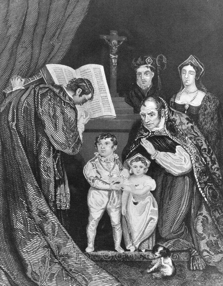 Gemälde: Anne Mowbray wurde im Kindesalter mit dem Duke of York verheiratet