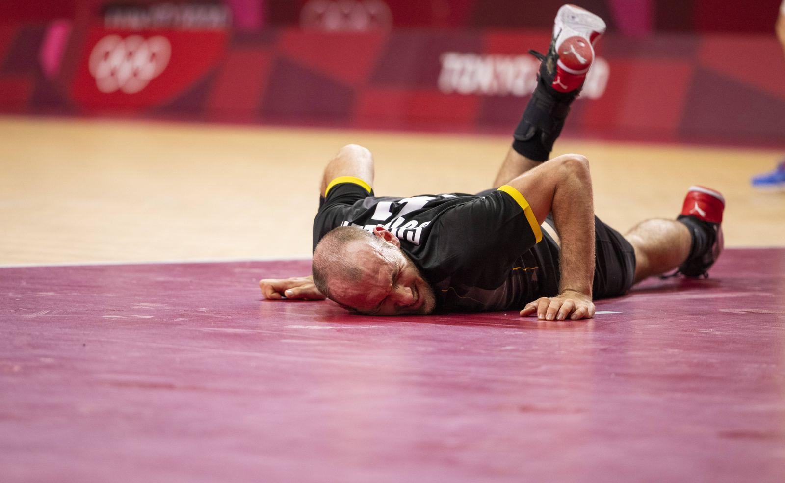 SCHILLER Marcel (GER) Germany - Espana Handball Tokyo Tokio, 24.07.2021, Japan, Olympic Games, Olympische Spiele, Olymp