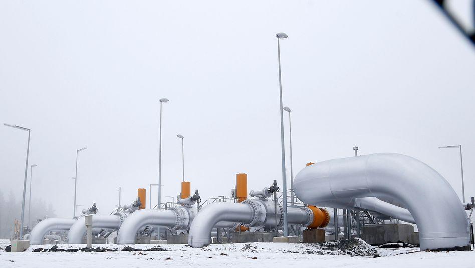 Nordstream-Pipeline: Gastransport aus Russland nach West- und Mitteleuropa