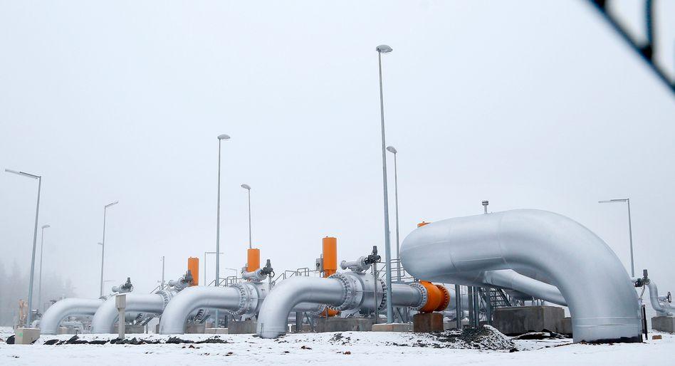 Nord-Stream-Pipeline: Gastransport aus Russland nach West- und Mitteleuropa