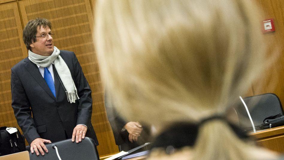 Jörg Kachelmann im Oktober vor dem Landgericht in Frankfurt am Main