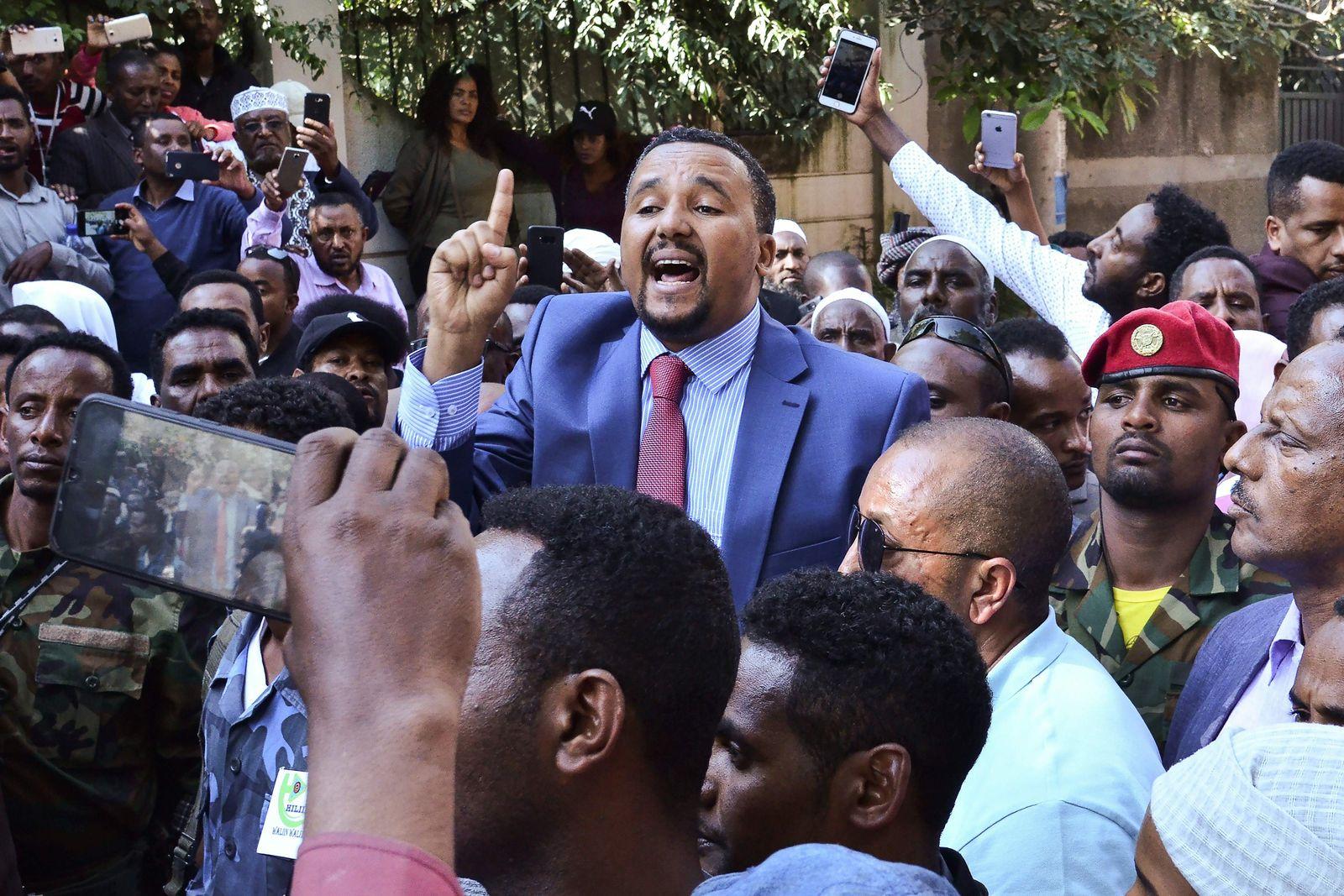 Jawar Mohammed Äthiopien OMN