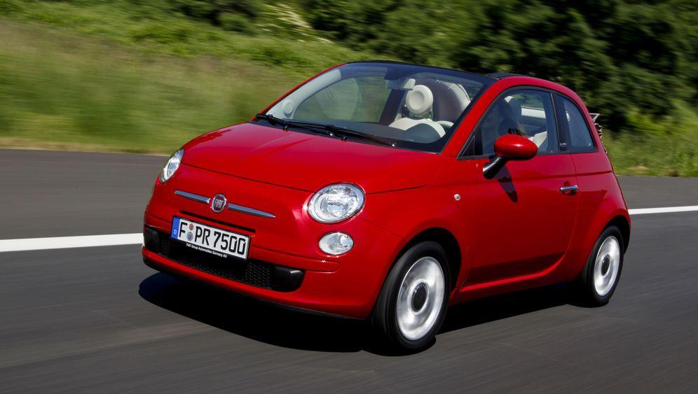 Fiat 500 C Rollendes Rotkappchen Der Spiegel