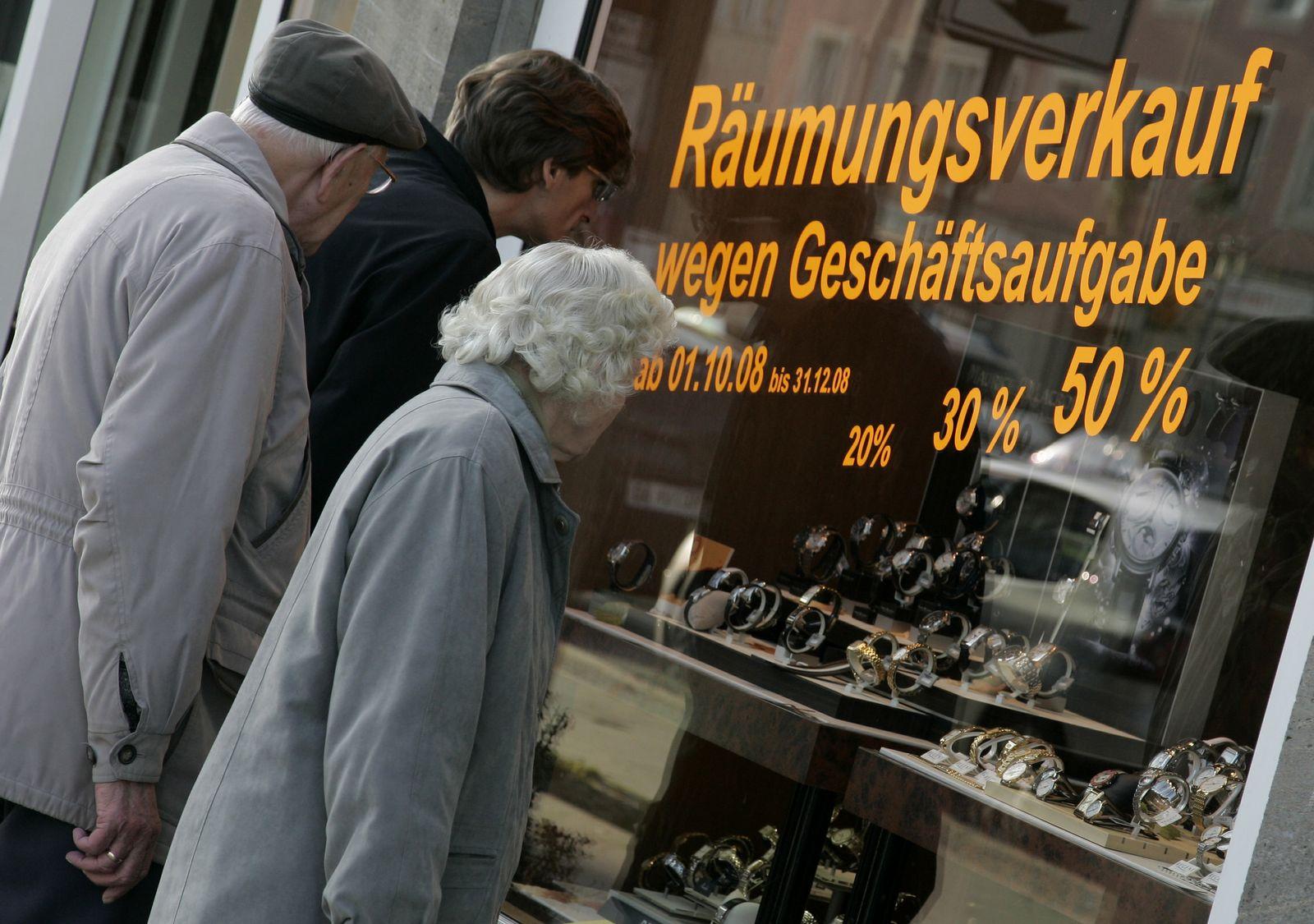 NICHT VERWENDEN Rezession / Magdeburg