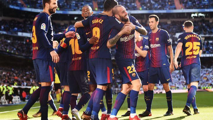 Clásico Real vs. Barça: Erst stark, dann in Unterzahl