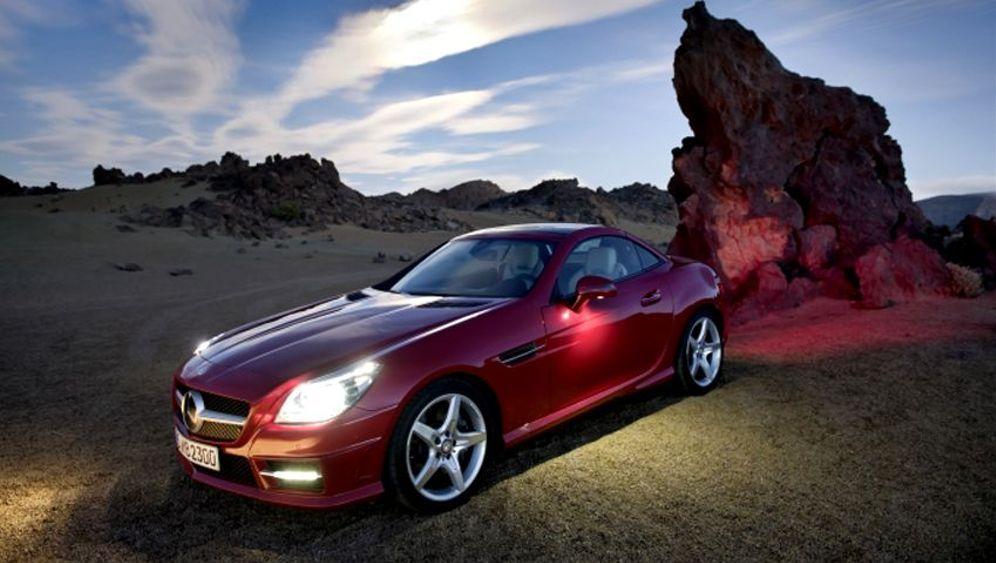 Neuer Mercedes SLK: Wohltat für die Augen