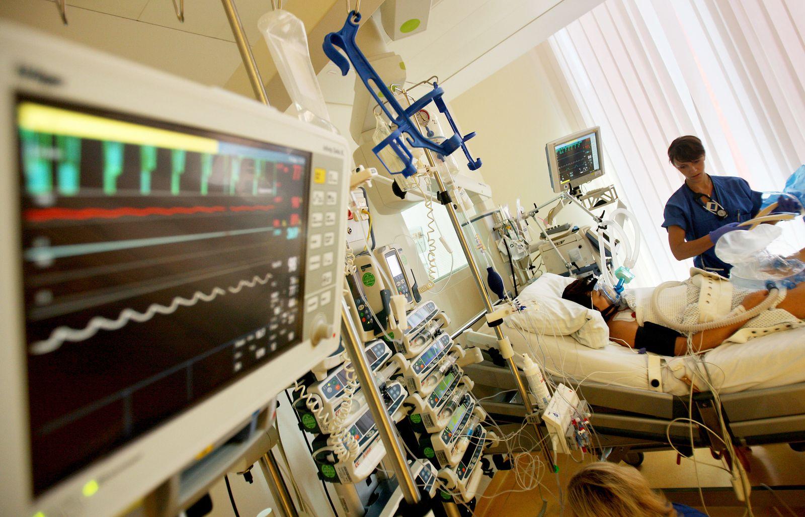 Intensivstation Krankenhaus