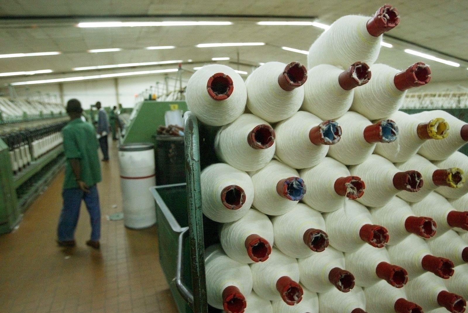 Textil-Industrie / West-Afrika