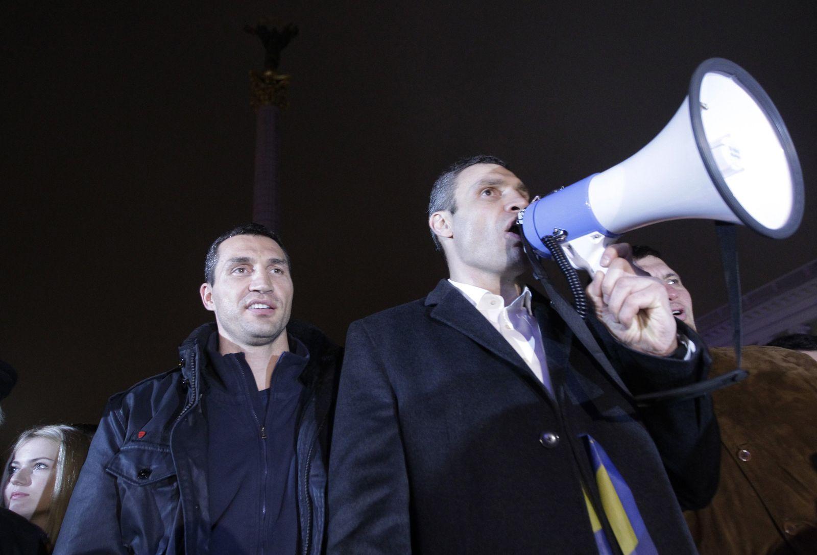 Vitali Klitschko/ Wladimir Klitschko