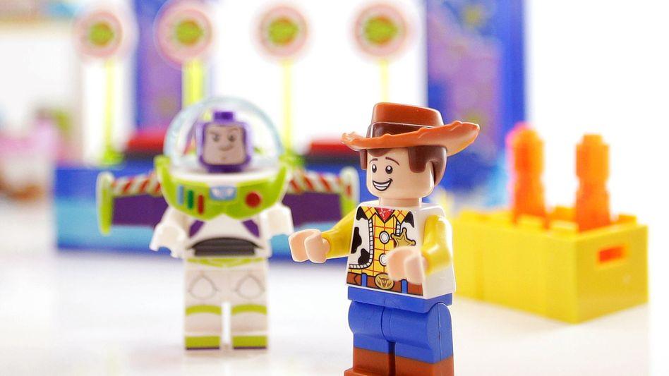 """Lego-Figuren, dem Disney-Film """"Toy Story"""" nachempfunden"""
