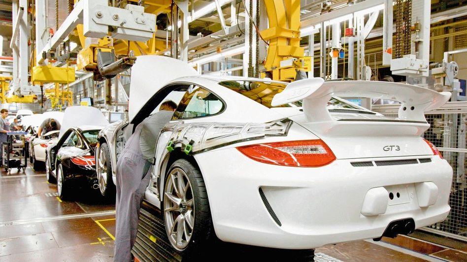 Porsche-Produktion in Zuffenhausen
