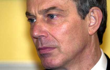 Tony Blair: Der Gegenwind nimmt zu