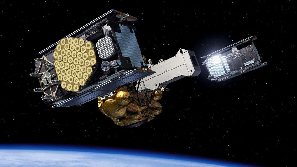 Könnten Hacker Satelliten wie die für das Navigationssystem Galileo kapern?