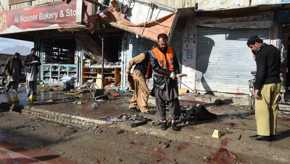 Anschlag in Quetta: Die meisten Opfer waren Polizisten