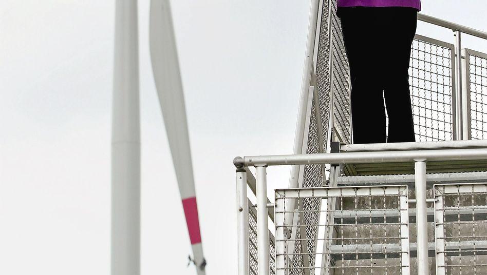 Angela Merkel: Wer Windenergie sät, wird Stromkosten ernten