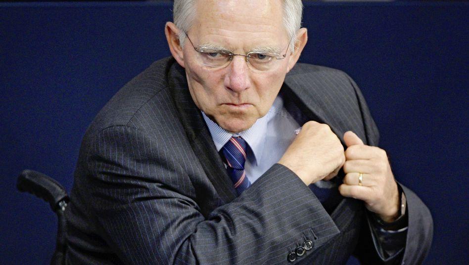 """Finanzminister Schäuble: """"Moderne Gesellschaften funktionieren nicht auf Knopfdruck"""""""