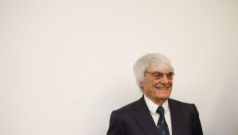 """Bernie Ecclestone in München: """"Das hat mit Freikaufen nichts zu tun"""""""