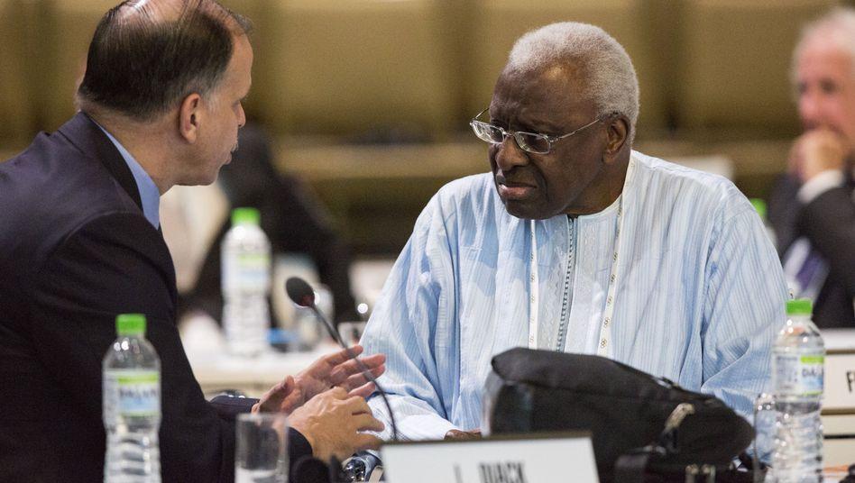 IAAF-Präsident Diack: Empörung über Dopinganschuldigungen