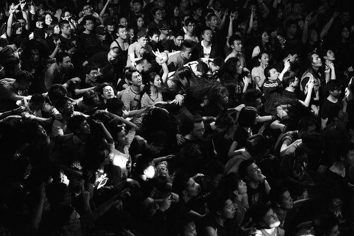 Publikum beim 330-Festival 2014