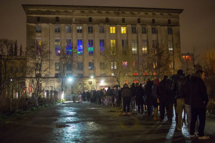 Attraktion Berghain
